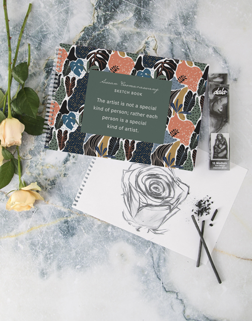 christmas: Personalised Special Kind Of Artist Sketch Book!
