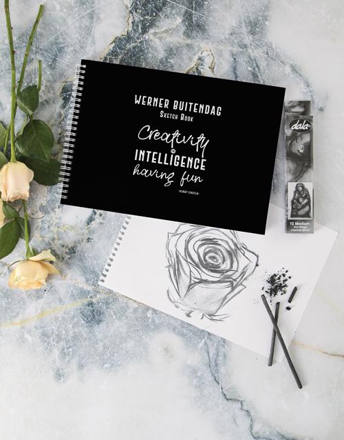 personalised: Personalised Creative Intelligence Sketch Book !