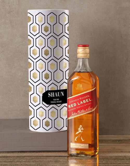 rosh-hashanah: Personalised Johnnie Walker Whisky Tube!