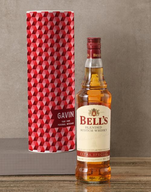 rosh-hashanah: Personalised Bells Whisky Tube!