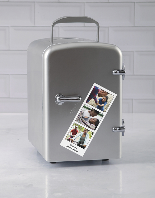 gadgets: Personalised Silver Photo Booth Desk Fridge!