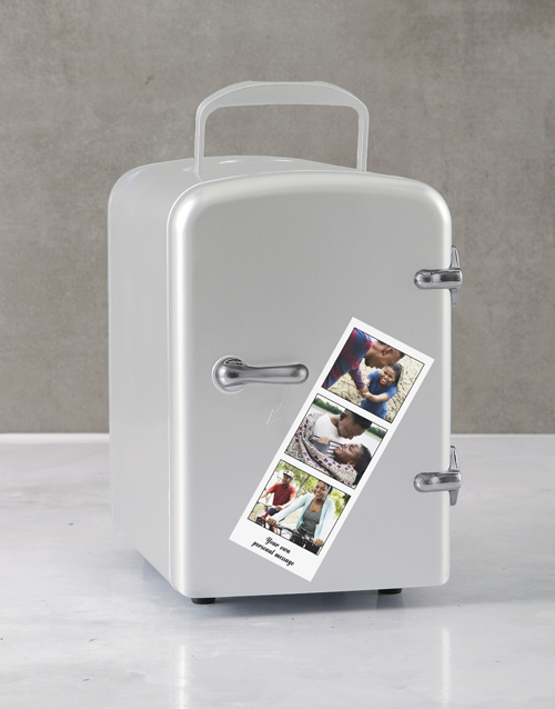 gadgets: Personalised Photo Booth White Desk Fridge!