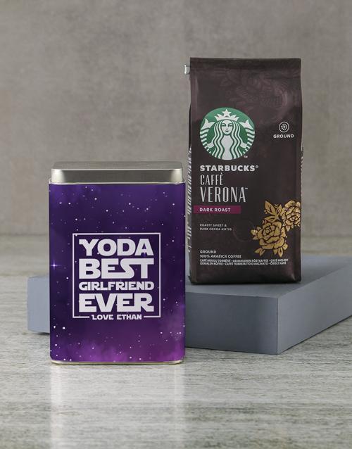 coffee-and-tea: Personalised Starbucks Best Ever Coffee Tin!