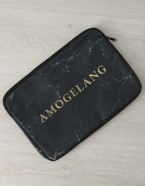 personalised: Personalised Marbleised Laptop Sleeve!