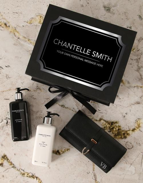 anniversary: Personalised Charlotte Rhys Luxury Gift Box!