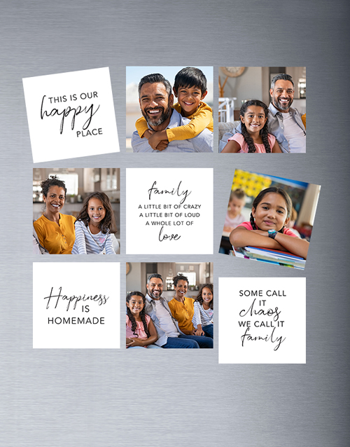 fathers-day: Personalised Family Theme Magnets!