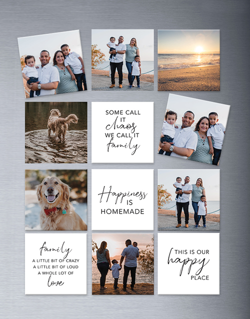 personalised: Personalised Family Theme Magnets Large!