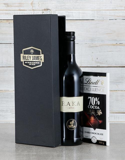 personalised: Personalised Raka Black Box!