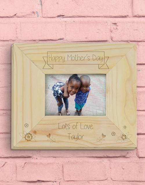 mothers-day: Personalised Happy Mother's Day Photo Frame!