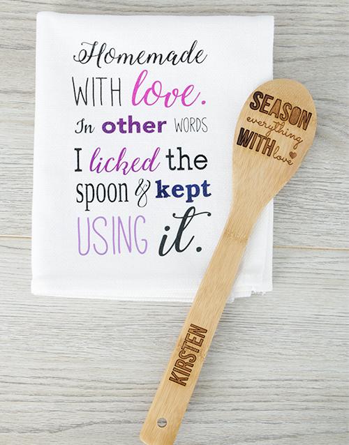 personalised: Personalised Season Everything Spoon!