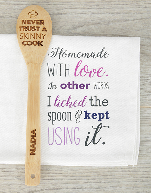 mothers-day: Personalised Skinny Chef Spoon!