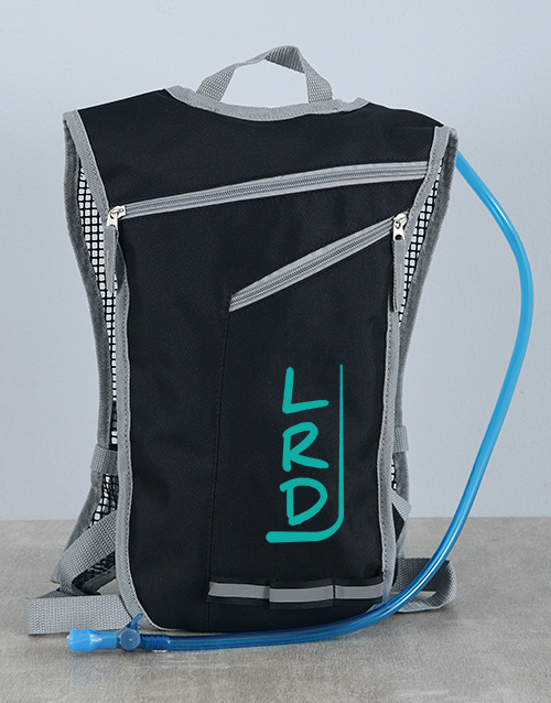 personalised: Personalised Hydration Backpack!
