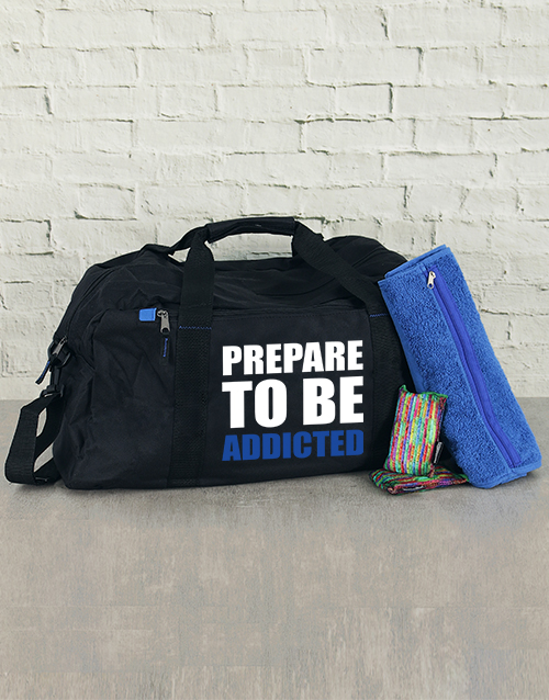 personalised: Personalised Prepare To Be Addicted Kit!