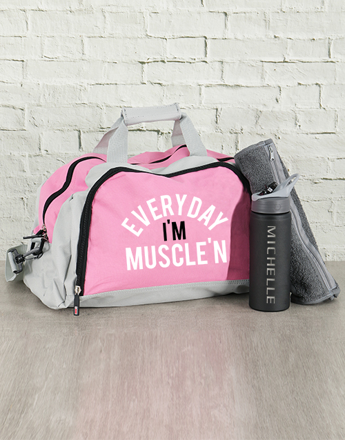 personalised: Personalised Muscle Everyday Kit!