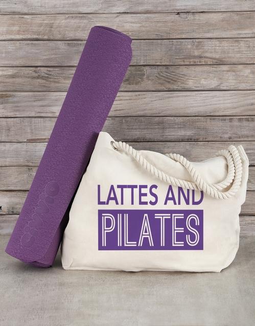 activewear: Personalised Beach Bag and Yoga Mat!