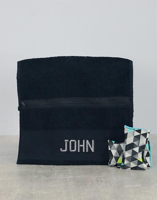 personalised: Personalised Towel and Goodsmellas Gift!