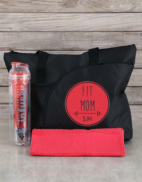 mothers-day: Personalised Fit Mom Hamper!