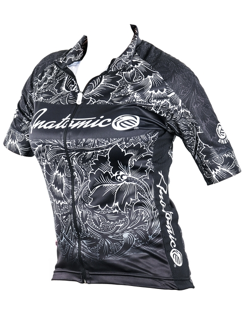 gym-clothes: Ladies Botanical Cycling Shirt!