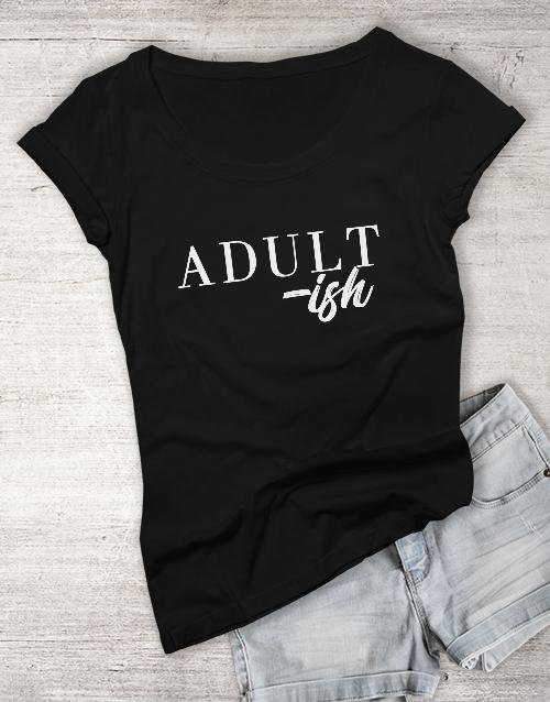 clothing: Adultish Ladies T Shirt!
