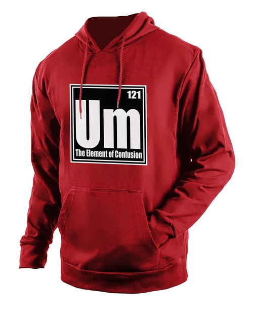 clothing: Personalised Red Confusion Hoodie!