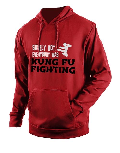 clothing: Personalised Red Kung Fu Hoodie!