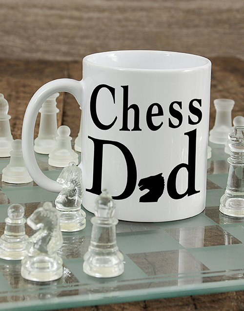 personalised: Personalised Chess Mug!