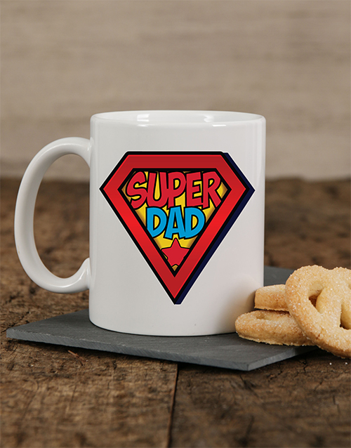 fathers-day: Personalised Super Dad Mug!