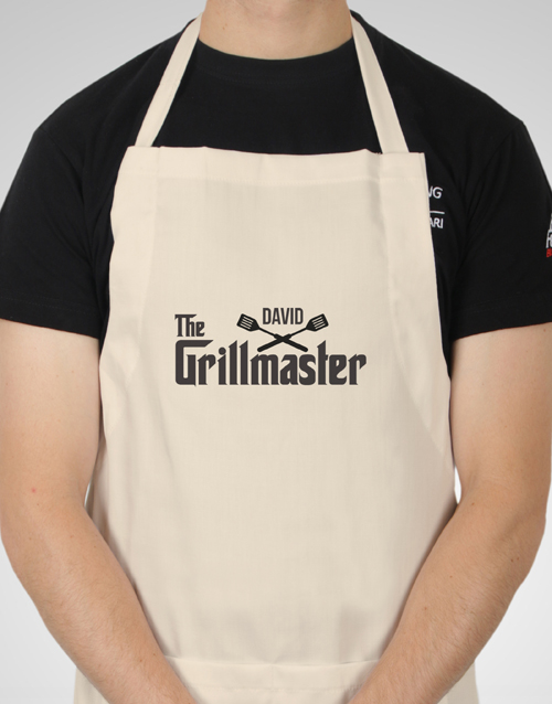 fathers-day: Personalised Grillmaster Apron!
