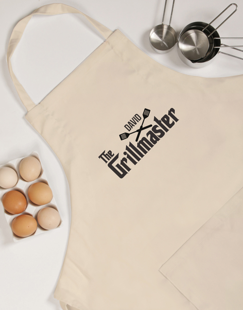personalised: Personalised Grillmaster Apron!