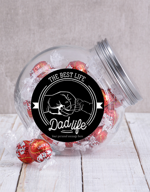 baby: Personalised Dad Life Candy Jar!