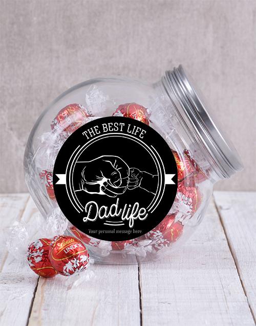 personalised: Personalised Dad Life Candy Jar!
