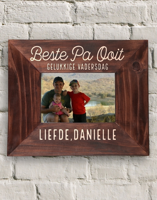 home-decor: Personalised Beste Pa Ooit Frame!