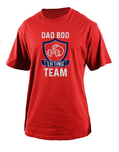 clothing: Personalised Lifting Team T Shirt!