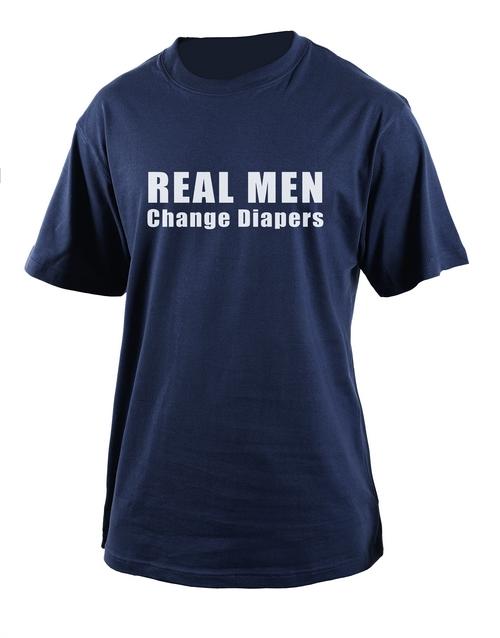 clothing: Personalised Real Men T Shirt!