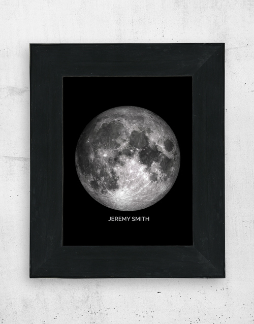 home-decor: Personalised Moon Wall Art!