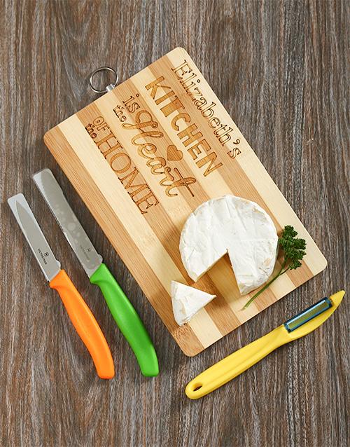 birthday: Personalised Chop Chop Gift Set!