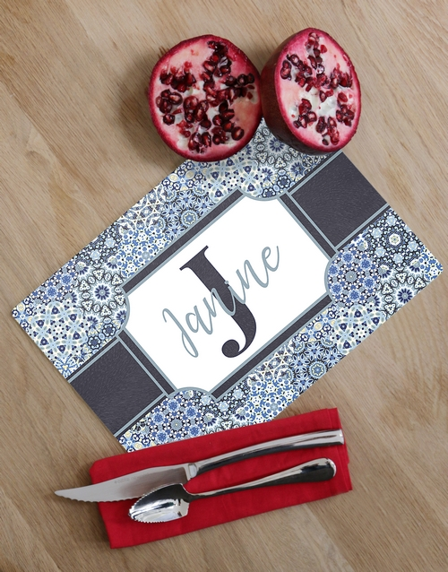 personalised: Personalised Initial Glass Chopping Board!