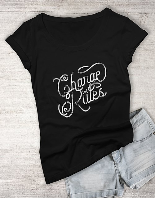 clothing: The Rules Ladies T Shirt!
