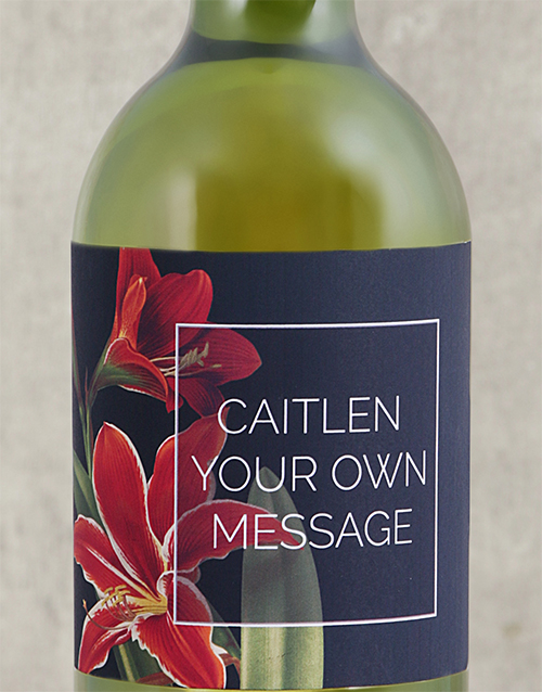 mothers-day: Personalised Lily Wine!
