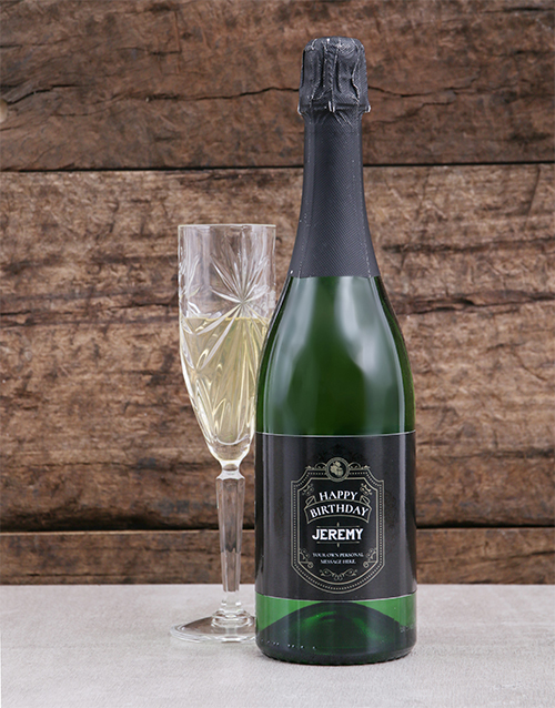 personalised: Personalised Vintage Birthday Bubbly!