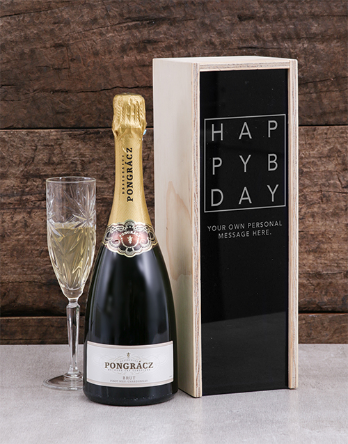 personalised: Personalised Birthday Pongracz Crate!