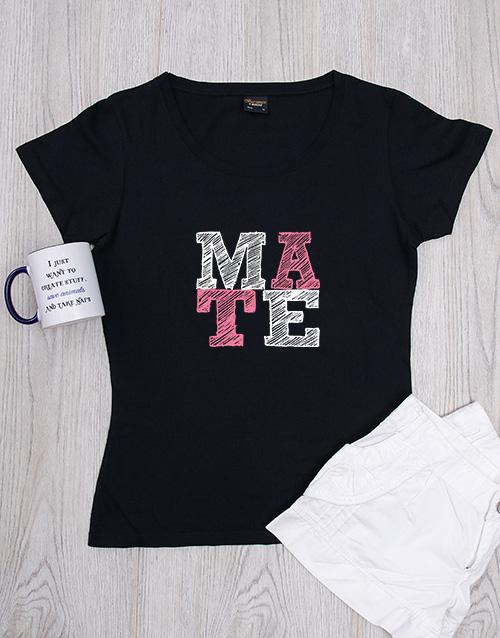 clothing: Personalised Mate Shirt!