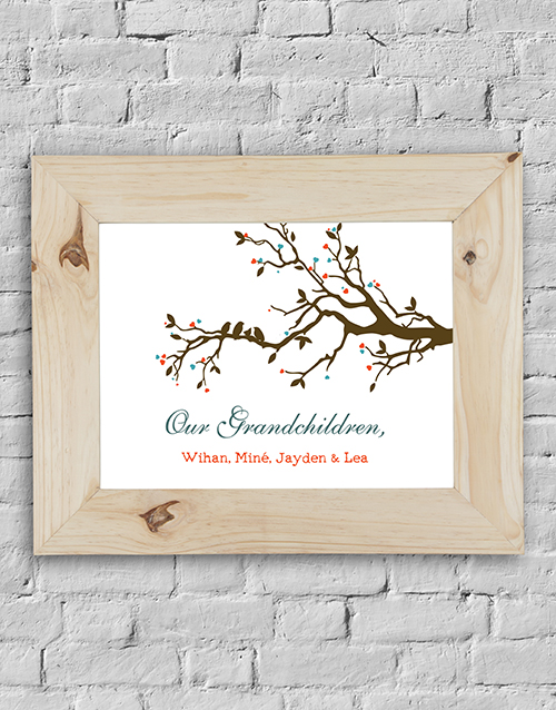 Personalised Our Grandchildren Frame online