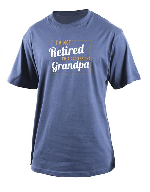 clothing: Personalised Professional Grandpa T Shirt!
