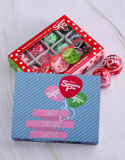 personalised: Personalised Birthday Sweetie Pie Box!