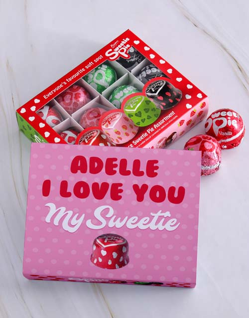 love-and-romance: Personalised Love You Sweetie Pie Box!