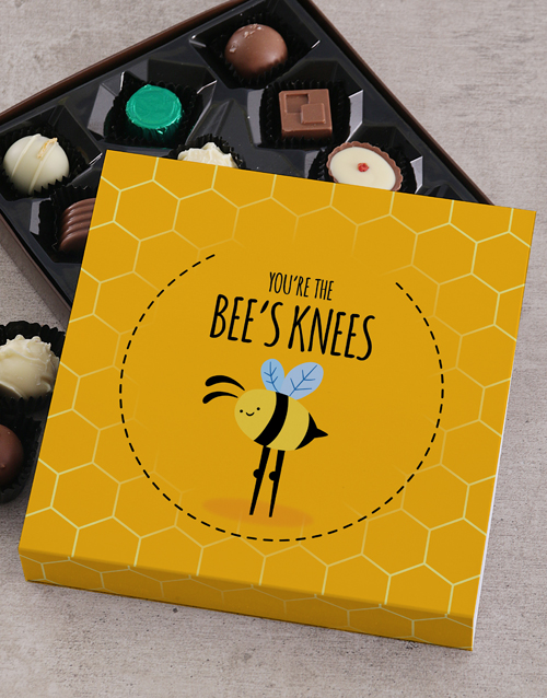 secretarys-day: Personalised Bees Knees Chocolate Tray!