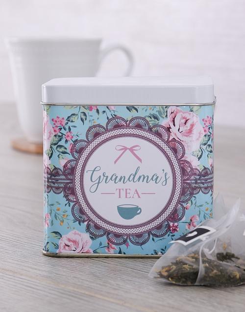 coffee-and-tea: Personalised Tea Tin for Grandma!