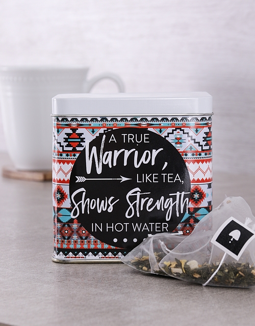 mothers-day: Personalised Warrior Tea Tin!