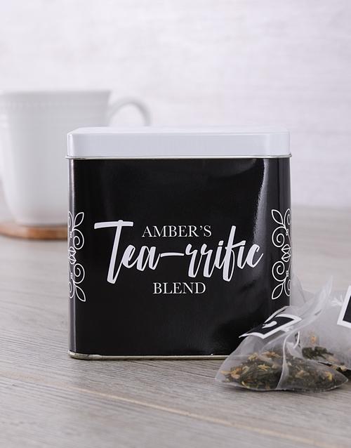 personalised: Personalised Tearrific Tea Tin!
